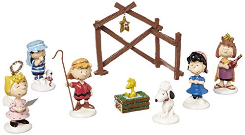 Peanuts from Department 56 Peanuts Pageant, Set of 8