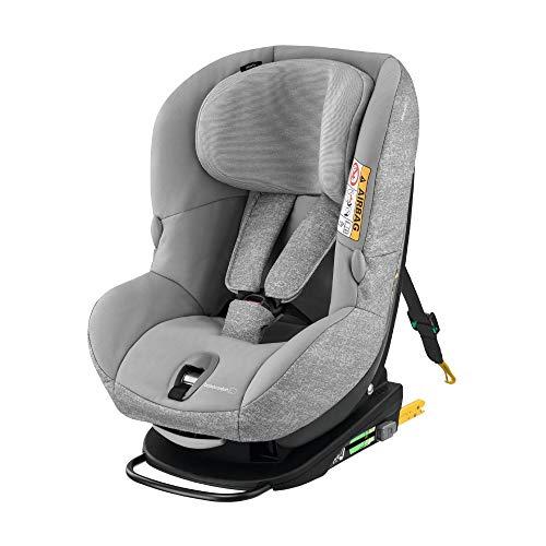 Bébé Confort Milofix , Siège-Auto Groupe 0+/1 (jusqu'à 18 kg), ISOFIX, Dès La Naissance à 4 Ans, Nomad Grey