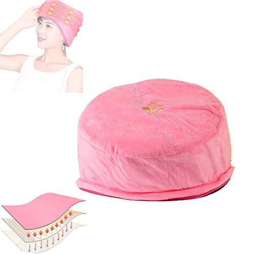 ZPYZA Verstelbare verwarmingsmuts, Nutritieve stoommuts voor verpleegsters, multifunctionele temperatuurinstelling, de hoed voor persoonlijke verzorging in het huishouden.