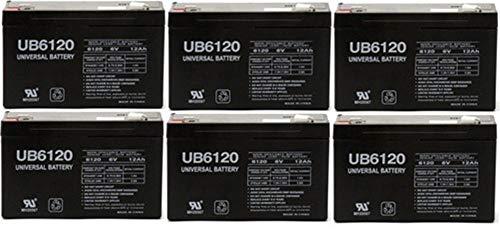 12V 5Ah F2 Sealed Lead Acid SLA Battery Replaces Securitron BPS123