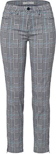 BRAX Damen Style Shakira S Tecno Glencheck Five Pocket Skinny Sportiv Hose, DEEP Sky, W(Herstellergröße: 38)