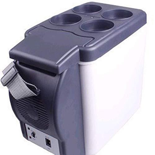 Enfriador y calentador de coche eléctrico 6L Mini enfriador / calentador eléctrico portátil para oficina, dormitorio universitario, dormitorio y apartamento, frigorífico de compresor pequeño (color: b