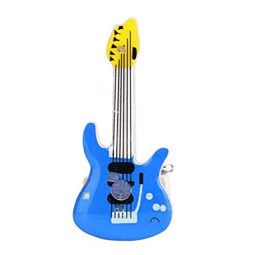 25 piezas de plástico para el pecho, broche de guitarra eléctrica, baterías...