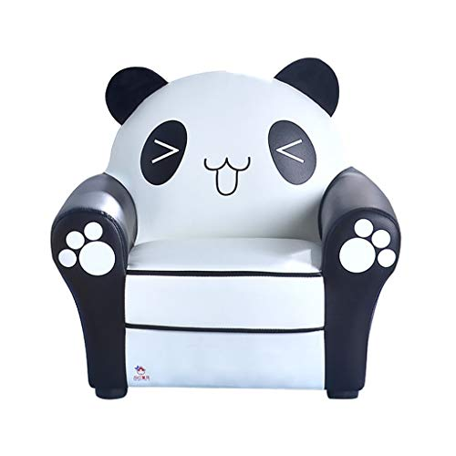 Animal Fauteuil, Mini Canapé Pour Enfants, Thème Petit Panda Pour 1-6 Filles Et Garçons Noir Blanc