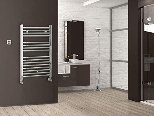 Kibath L497503 radiator, warm water, verchroomd, 800 x 500, glanzend chroom