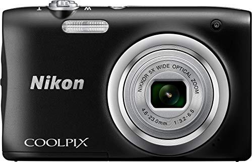 Nikon–Kit fotocamera digitale CoolPix A100+ astuccio + SELPHIE sctick