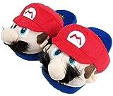 Zapatillas de casa de felpa Super Mario y Luigi - Cariño caliente para el hogar...
