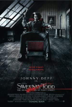 Sweeney Todd - Johnny Depp – Film Poster Plakat Drucken Bild – 30.4 x 43.2cm Größe Grösse Filmplakat Helena Bonham Carter