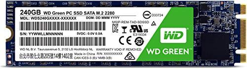 WD Green 240GB Unità allo Stato Solido SSD Interna - SATA M.2 2280 - WDS240G1G0B