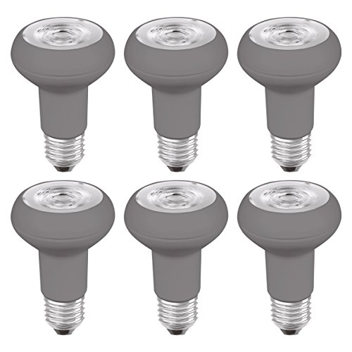 Osram LED-Reflektorlampe| Warm White (2700 K) | Sockel E27 |ersetzt Reflektorlampen mit 64 W | 5,00 W | LED STAR R63