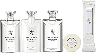 Bvlgari au the blanc/White Tea Travel & Gift Set - Lotion, Shampoo, Conditioner, Towelette & Soap