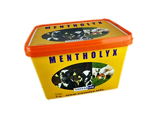 Crystalyx Mentholyx mit Menthol Ergänzungsfuttermittel Schafe Ziegen Kälber 5kg