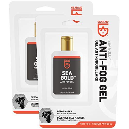 41LYzIsP72L - Gear Aid Sea Gold Anti-fog Gel Coating for SCUBA Dive Masks, 1.25 oz, 2 Pack