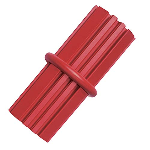 Kong Dental Stick Dog Toy, Medium (Red) for Strong Chewers