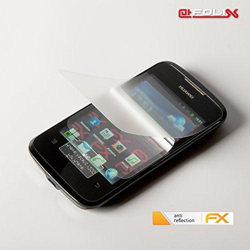 atFoliX Displayschutzfolie für Huawei Ascend Y200 (3 Stück) - FX-Antireflex: Displayschutz Folie antireflektierend! Höchste Qualität - Made in Germany! - 6