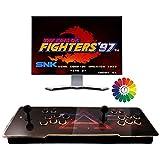 Consola de Juegos Retro Arcade 3D Pandora Box 8000 Retro HD Games Multijugador Arcade Game Console, 2 Joystick Partes de la Fuente de alimentación HDMI y VGA y Salida USB