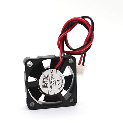 Durable 1pcs 3010 Ventilador de refrigeración Radiador Enfriador 30x30x10 mm DC 12V / 24V Cable lehgt 30cm / 200cm para Piezas de Impresora 3D Accesorios de impresión 3D (Tamaño: 12V 30cm)