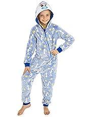 Disney Toy Story 4 Pijamas de Una Pieza Forky Brilla En La Oscuridad, Mono Infantil Entero Super Suave, Pijama Onesie Capucha, Regalos para Niños Niñas
