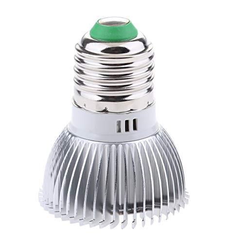 Homyl E27 8 / 10w LED Pflanzenleuchte Pflanzenlampe Wachstumslampe Pflanzenlicht Grow Lamp, Lange Lebensdauer - 8W 18 LED