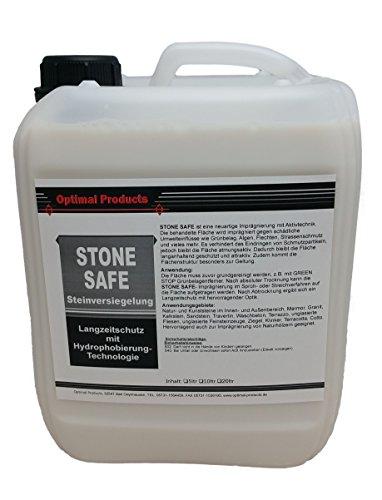 Optimal Steinversiegelung/Imprägnierung Langzeitschutz- Versiegelung 5 Liter Kanister