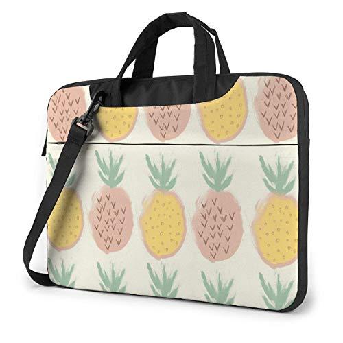 Tropical Plants Pineapple Funnny (29) 15.6 in Laptop Bag Anti-Collision Notebook Computer Protective Cover Handbag Shoulder Bag