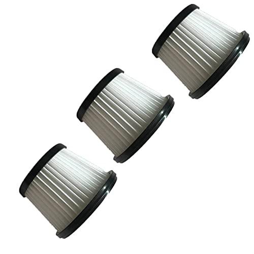 NIDUNO 3pcs aspirateur daspirateur HEPA Filtre pour Silvercrest Shaz 22,2 C3 Poignée C3 Poignée daspirateur Pièces de Filtre