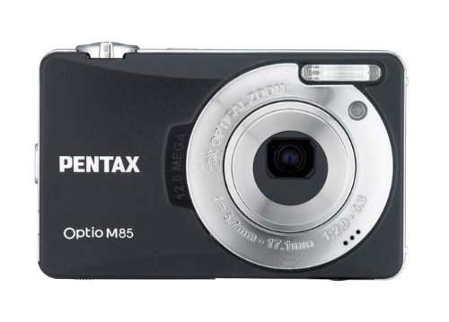 Pentax Optio M85 - Cámara Digital Compacta 12 MP - Negro (3 Pulgadas LCD, 3X Zoom Óptico)