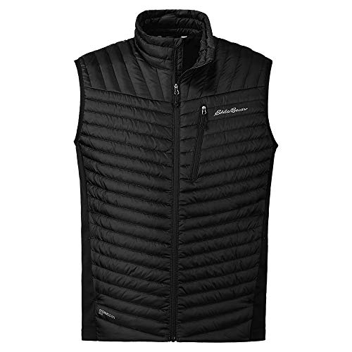 Eddie Bauer Men's MicroTherm 2.0 Down Vest, Black Regular S