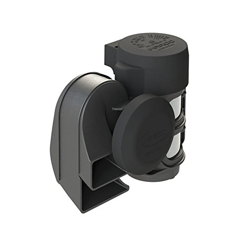 MARCO 11203012 TR2-TORNADO Tromba Elettropneumatica Compatta con Suono Molto Potente, Bitonale con compressore Integrato, Set di 12