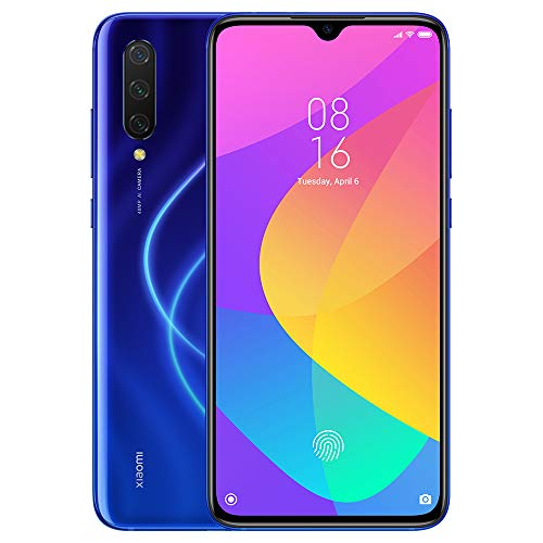 "Xiaomi Mi 9 Lite Smartphone,6GB 64GB Mobilephone,Display AMOLED da 6,39"",Processore Octa-Core Qualcomm Snapdragon 710,Fotocamera Tripla Selfie da 32 MP e 48 MP,Versione Globale (Blu)"