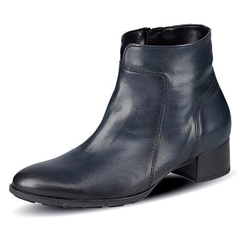 Gabor Damen Elegante Stiefeletten, Frauen Ankle Boots,Wechselfußbett,Hovercraft-Luftkammersohle,Best Fitting,Ocean (Effekt),44 EU / 9.5 UK