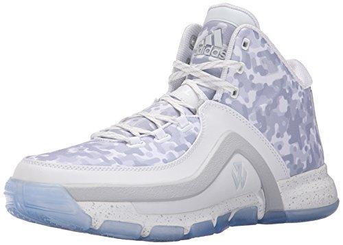adidas J Wall 2–Schuhe Basketball Weiß/Hellgrau (5), Weiß/Hell/Grau - Größe: 6.5 D(M) US