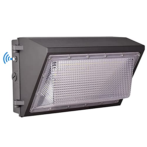 LED Wall Pack Light with Dusk to Dawn Photocell,150W 19500LM 5000K Daylight ,AC100-277V Input,900W HPS/HID Equivalent, Waterproof Commercial Security Lighting for Warehouses, Garage,ETL Listed …