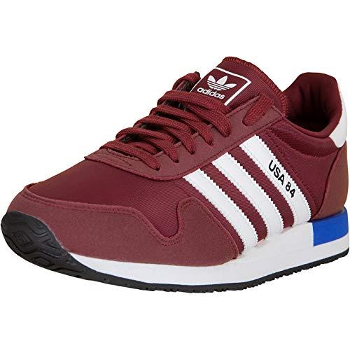 Adidas USA 84 - Zapatillas, color Rojo, talla 44 EU