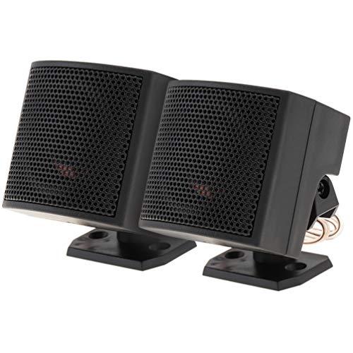 WINOMO 2 Stks 500 W Auto Gemonteerde Luidspreker Auto Audio Box Auto Luidspreker Voertuig Voice Box Outdoor Luidsprekersysteem Voor Suv Autos