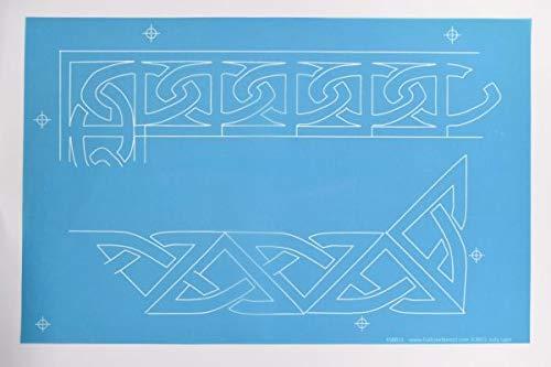 Hancy Creations 50014 Celtic Borders Full Line Stencils