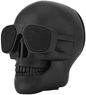 $26 » Portable Skull Bluetooth Speakers,Cool Creative Design Bass Stereo Speaker,for Desktop PC/Laptop/Phone/MP3/MP4 Player, for...