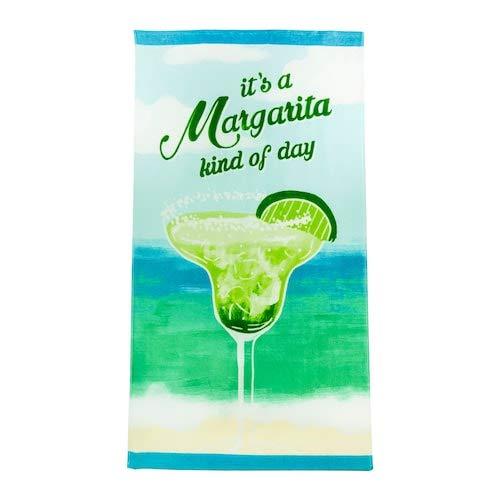 여름을 함께 축하한다 마가리타 비치 타월