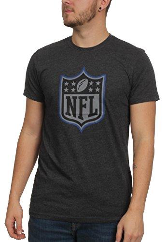 New Era NFL Logo T Shirt Two Tone Pop Tee Heather Charcoal - L