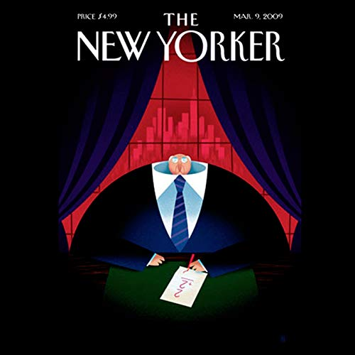 『The New Yorker, March 9nd, 2009 (Alec Wilkinson, Sasha Frere-Jones, David Foster Wallace)』のカバーアート
