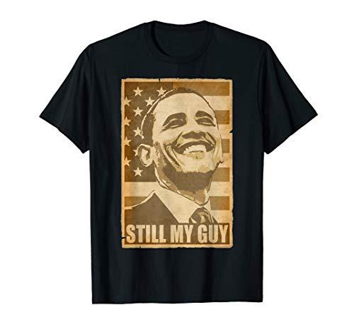 Barack Obama Still My Guy Zerrissenes Poster T-Shirt