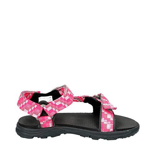 Jack Wolfskin Mädchen Seven Seas 2 Sandal G Sport, Pink (Tropic Pink) - 3
