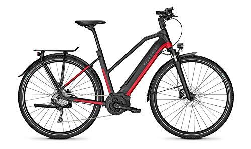 "Kalkhoff Endeavour 5.B Move Bosch Elektro Trekking Bike 2020 (28\"" Damen Trapez L/53cm, Racingred/Magicblack Matt)"