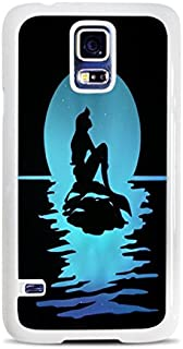 Popular Blue Silhouette Print (FREE SHIPPING) White Hardshell Case for Samsung Galaxy S5