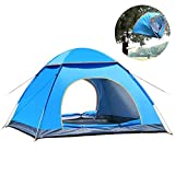 XBR 2021 New Tent Automatic Instant Pop-up Portable Ultralight Hiking Picnic Sunshade 2-3Person Camping Tent for Backpacking Fishing (Color : Orange, Size : 200x150x110cm)