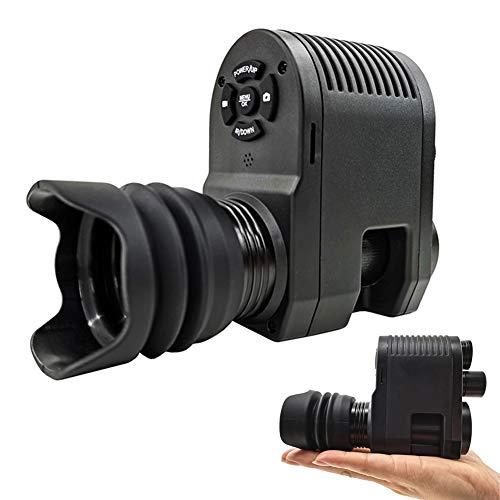 Wan&ya Visore Notturno Digitale Mirino monoculare Obiettivo da 25 mm Occhiali per Visione Notturna HD a infrarossi Fotocamera per Caccia, monitoraggio della Fauna Selvatica Scatta Foto e Video