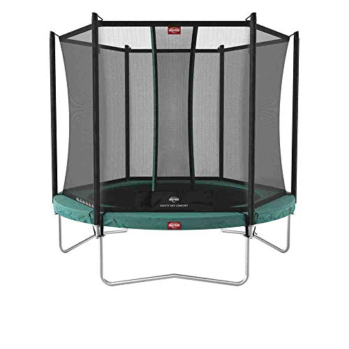 Berg Green Favorit Regular 330 10ft Trampoline + Safety net Comfort