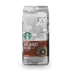 Starbucks Breakfast Blend: A lively and lighter medium-roast coffee with a crisp finish Medium Roast: Medium-roasted coffees are smooth and balanced with rich, approachable flavors Home for the Holidays: Enjoy the Starbucks coffee you love without le...