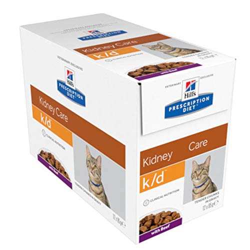 Hill´s Prescription Diet Feline k/d Frischebeutel mit Rind