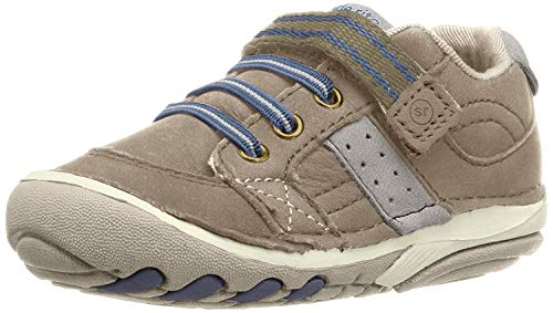 Stride Rite baby boys Srt Soft Motion Artie Athletic Sneaker, Truffle, 6 Wide Toddler US